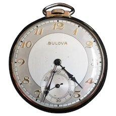 Vintage Bulova Pocket Watch