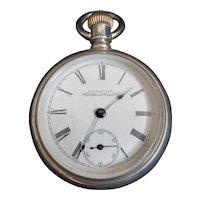 Antique 1883 American Waltham Pocket Watch
