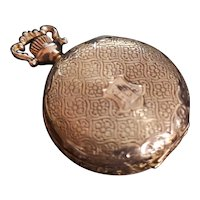 Vintage 1907 14K gold Waltham Watch Pendant