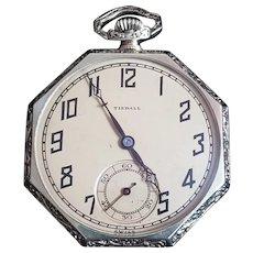 Vintage Gold-filled Tisdall Pocket Watch