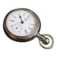 Vintage HWC  Silveroid Pocket watch