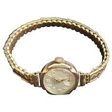 Vintage 9K Gold H&G Swiss Made Wristwatch