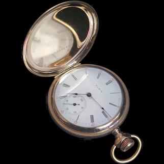Vintage 1904 Gold Filled Elgin Pocket Watch