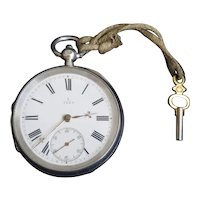 Antique Potts & Sons Leeds Fusee Pocket Watch