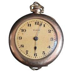 Vintage 1917 Elgin Gold Filled Pocket Watch
