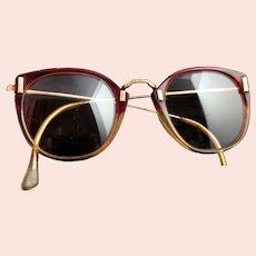 Vintage 1940s ladies celluloid spectacles, glasses