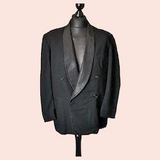 Vintage c1930s gents tuxedo jacket