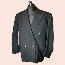 Vintage c1940s gents dinner jacket, blazer