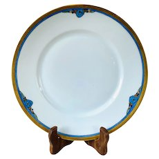 Vintage Arts and Crafts Hand-Painted Hutschenreuther Selb Bavaria Dinner/Decorative Plate