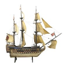 HMS Victory Model Ship 150-200 years old