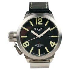 U-Boat IFO Left Hook Stainless Steel Automatic Wristwatch