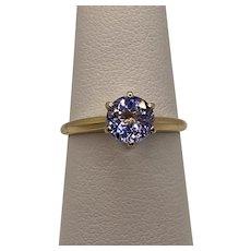 18k Iolite Ring