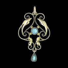 Art Nouveau  Antique Jewelry
