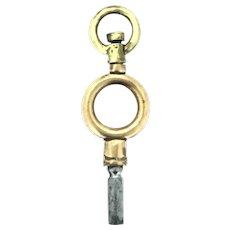 Watch Key Fob Pendant Original Edwardian