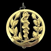 Collectable French Statement Brooch Beraudy Vaure Ambert Snake