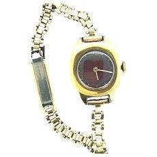 Vintage RG Timex Wristwatch Steel Wind Up Mechanical Keeps Time