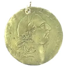Antiquity Medal Coin Costume Pendant