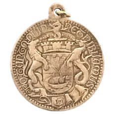 1906 Belfast City Hall Medal Pendant Collectable