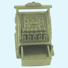 Miniature Dolls Cash Register With Opening Drawer