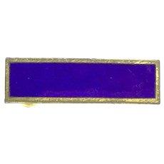 Thomas Fattorini Ltd Birmingham Brooch Pin Gilt Enamel Collectable