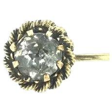 Victorian Style Paste Gilded Stick Pin Cravat Elegantly Simple