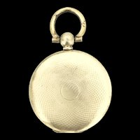 Edwardian Gold Filled Locket Pendant Aesthetic Beautiful