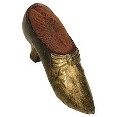 Vintage Pin Cushion Shoe