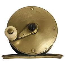 Farlow brass Fishing Reel