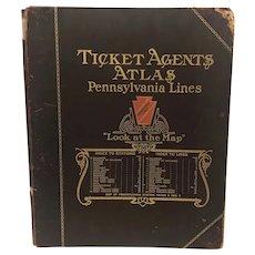 Pennsylvania Railway Lines Atlas 1905