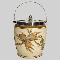 English Victorian Biscuit Barrel