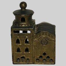 Antique Cast Iron Mosque Bank