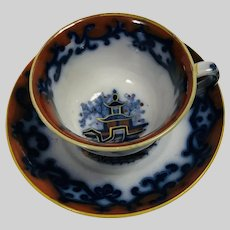 Edward Walley Ironstone Cup & Saucer