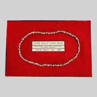 "Antique ""Cross Trails"" Trade Beads"