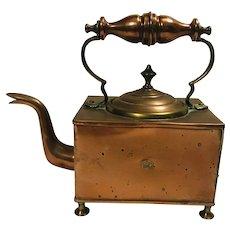 Victorian Copper Brass Kettle English