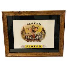 Alazan Cigar Box Label Chromolithograph