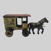 Marx Tin Litho Toyland's Toy