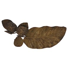 Black Forest Walnut Inkwell