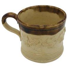 19thc Child's Stoneware Cup