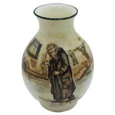 Royal Doulton Dickens Ware Fagin Miniature Vase