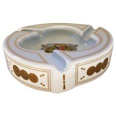 """Vintage Romeo y Julieta 1875 Porcelain 10"""" Cigar Ashtray Medallas de Oro"""