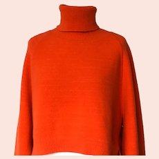 Vintage Dolce Gabbana Turtleneck Wool Sweater Size 4