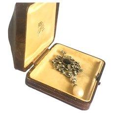 Arts and Crafts English Jewelry Box