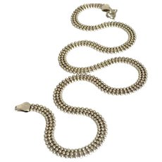 """A wonderful Sterling Silver Made in Italy Chain 18"""" length."""