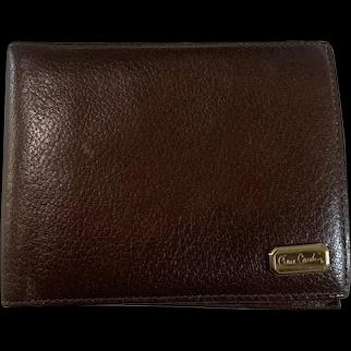 Vintage Pierre Cardin Glazed Lambskin Wallet
