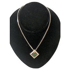 Vintage Christian Dior Necklace with Original Tag