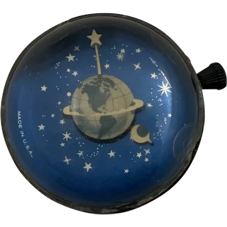 Westclox Desk Celestial Paper Weight Clock, Deco from the 1930's