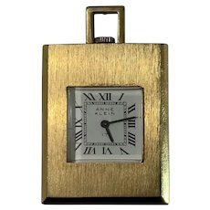 Anne Klein Wind-Up Pendant Necklace Watch (Without Chain)