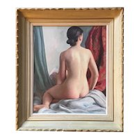 Ehlinger Maurice (1896-1981), Female Nude, Oil on Canvas, French School