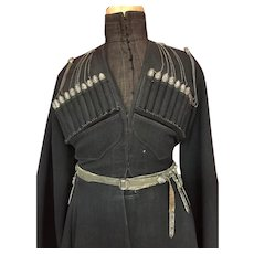 Antique Cossack Uniform of the Russian Imperial Army Late 19th Century