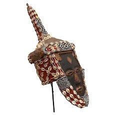 Genuine Kuba LeLe African Mask Collector